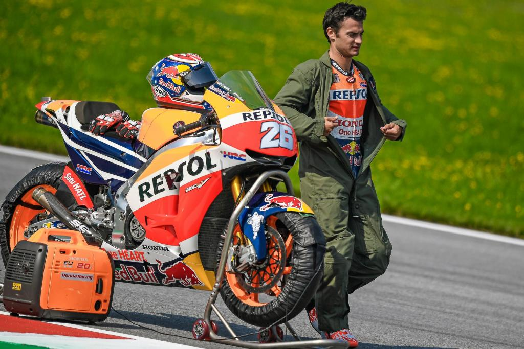 MotoGP 2017 Австрия Repsol Honda Ьарк Маркес и Дани Педроса  Репсол Хонда